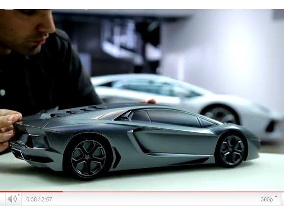 [vidéo] La genèse de la Lamborghini Aventador