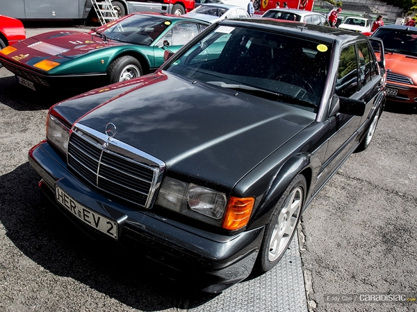 Photos du jour : Mercedes 190 EVO II (Modena Track Days)