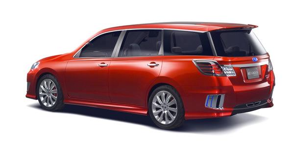 Salon de Tokyo: Subaru Exiga concept