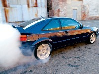 VW Corrado : Propulsion, turbo et 400 chevaux...
