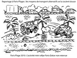 Transports alternatifs au rythme de la plage