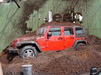 Jeep Wrangler Unlimited, une présentation salissante