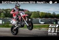 Supermotard Luc1, round 1: la vidéo