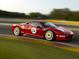 Ferrari 458 Challenge : quelques photos de plus