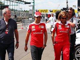 "F1 Ferrari Massa : ""je ne suis pas un n°2"""