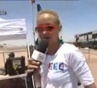 Elodie pas encore tout à fait prête pour le Dakar