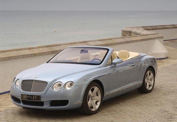 Bentley Continental Gtc Le Cabriolet 4 Places Le Plus
