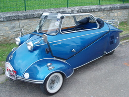 Réponse du quizz du 24 juin: C'était la Messerschmitt KR !