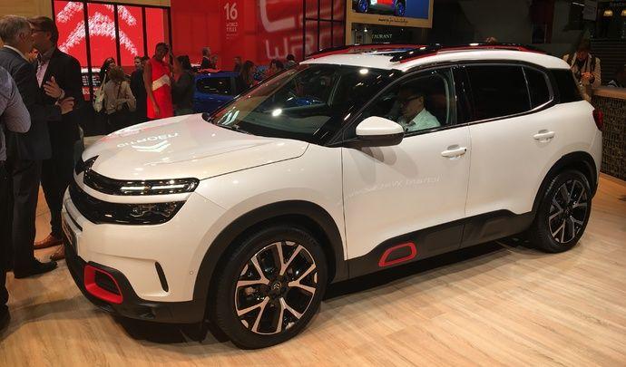 Citroën C5 Aircross : paré pour la famille - Vidéo en direct du Mondial de l'auto