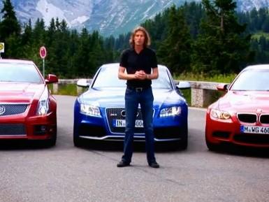 [Vidéo] Bataille à trois entre les BMW M3, Audi RS5 et Cadillac CTS-V, Motor Trend préfère la BMW
