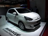 Vidéo en direct du Mondial de l'auto - Mitsubishi Mirage  : on rengaine les colts