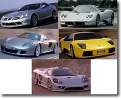 les 5 voitures les plus rapides du monde. Black Bedroom Furniture Sets. Home Design Ideas