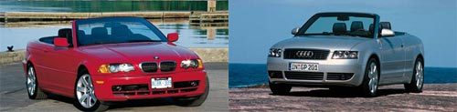 Audi A4 (2002) vs BMW Série 3 (E46) : cousins germains