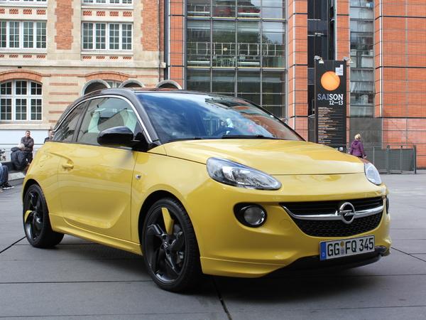 Vidéo - Mondial de Paris 2012 : l'Opel Adam en avant-première
