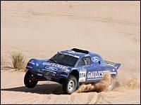 Jean Louis Schlesser remporte la 5e étape du rallye Optic 2000