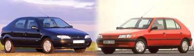 Peugeot 306 VS Citroën Xsara : Sœurs ennemies