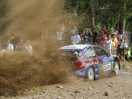 WRC Finlande : Hirvonen en tonneau, Solberg leader
