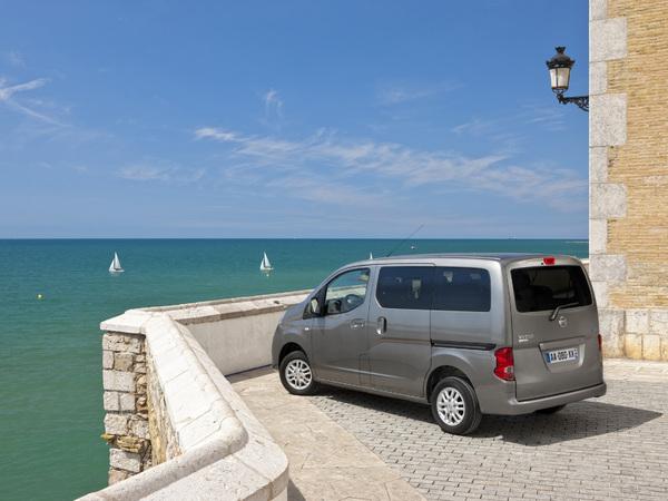 Nissan NV200 Evalia: commandes ouvertes à partir de 18400 €