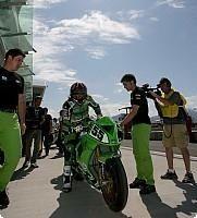 Superbike - Brands Hatch: Laconi roulera blessé