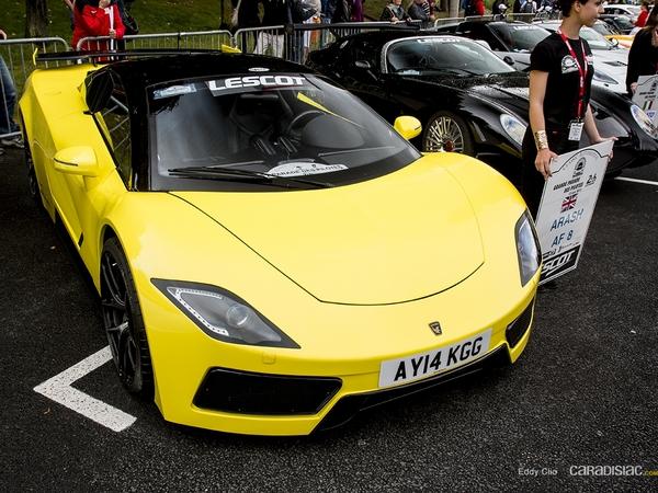 Photos du jour : Arash AF8 (Parade des pilotes du Mans)