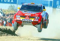 Peterhansel en passe de remporter le rallye Optic 2000