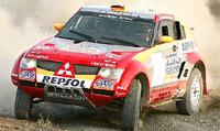 Stéphane peterhansel remporte le rallye Optic 2000