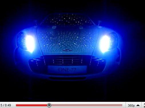 """[vidéo] bande annonce du 4eme épisode """"Introducing Aston Martin One-77"""""""