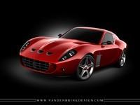 Ferrari F599 / 630 GTO by Vandenbrink Design : 1.215.000 euros ! (+ vidéo)
