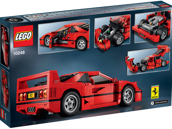 lego propose de construire une ferrari f40. Black Bedroom Furniture Sets. Home Design Ideas