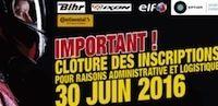 Moto Tour 2016: clôture des inscriptions fin juin