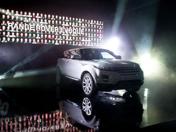 Le premier Range Rover Evoque est sorti des lignes de production