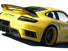 Porsche 911 Turbo par Misha Designs : intéressante