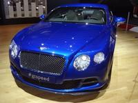 En direct du Mondial 2012 - Bentley Continental GT Speed: Une GT-R... raffinée !