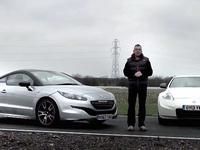 Matchs vidéo : Peugeot RCZ R vs Nissan 370Z Nismo vs Audi TTS