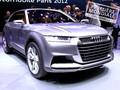 Mondial de Paris 2012 : Audi Crosslane Coupé, le style Audi évolue