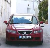 Fiche occasion Honda Accord