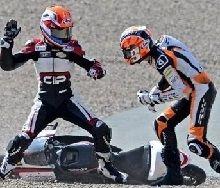 Moto 3 - Grand Prix d'Allemagne: bagarre dans le bac à sable