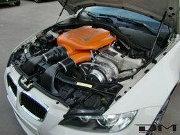BMW M3 E92 DM Performance. Comme d'habitude, un compresseur