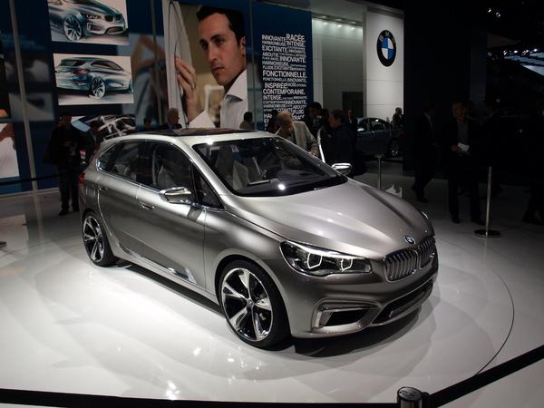 Video - En direct du Mondial de l'Auto - BMW Active Tourer concept : la'traction