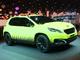 Vidéo en direct du Mondial 2012 : le Peugeot 2008 Concept, il brille dans le noir