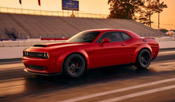 Dodge : les 840 ch de la Challenger Demon pour 74000€