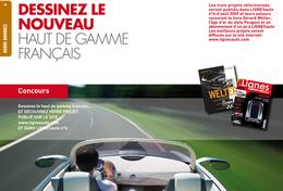 Design : concours Lignes auto n°4