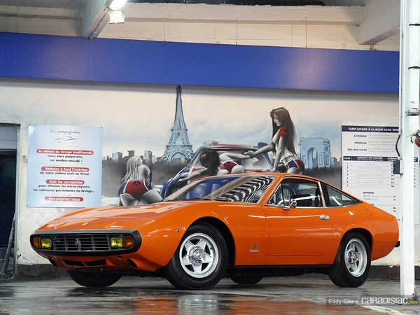 Photos du jour : Ferrari 365 GTC/4 (MMC Paris)