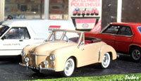 Miniature : 1/43ème - RENAULT 4cv cabriolet Duriez