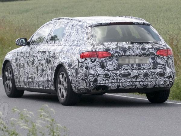 L'heure de la toilette a sonné pour l'Audi A4...