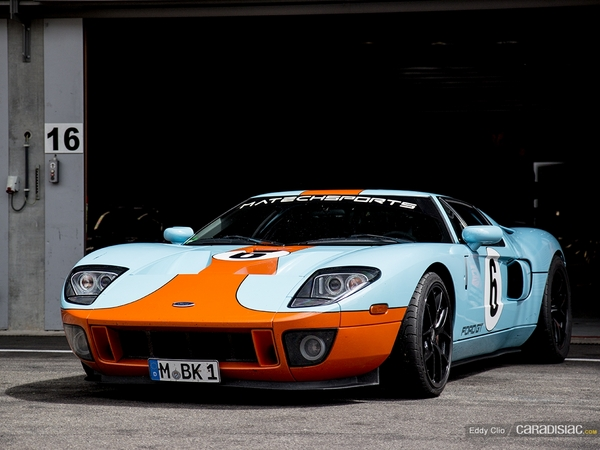 Photos du jour : Ford GT (Modena Track Days)