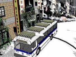 Concept : et si on faisait un potager sur les bus de New York ?