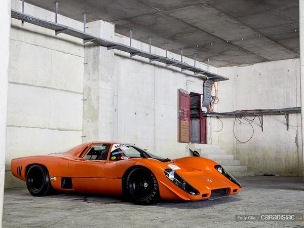 Photos du jour : Mclaren M6 GT Coupé (Spa Classic)