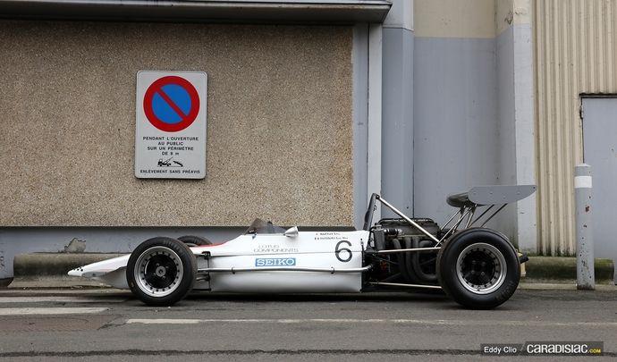 Photos du jour : Lotus Type 69 F2 (Rétromobile)