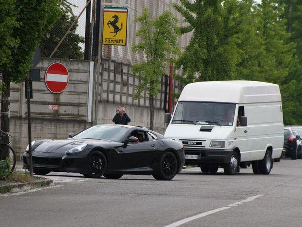 Future Ferrari 599 : un de nos lecteurs l'a croisée ... et filmée !